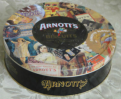 Collectable Arnott's Biscuit Tin *1997 Memories *Rosella