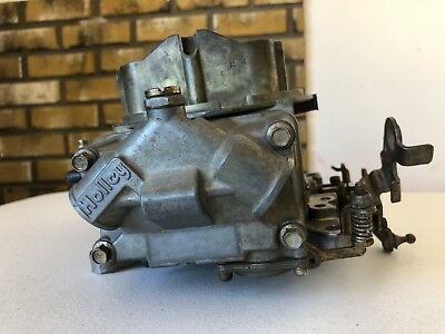 Used Holley 750 CFM Carburetor 3110-4  P-80 UNTESTED / AS-IS