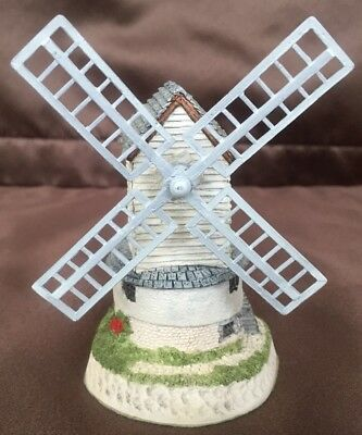 David Winter Cottage WINDMILL with COA, NEW in Original Box