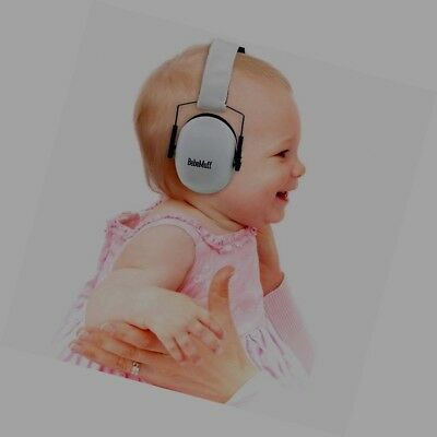 New BEBE MUFF HEARING PROTECTION- BEST USA Certified Gray Ear Muffs 2 yr.