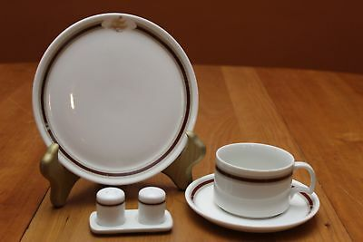 Royal Doulton Regal Imperial Northwest Airlines 6 Piece First Class Service Set