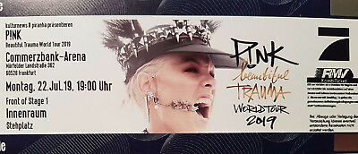 Pink - Frankfurt - 22.07.2019 - Front of Stage 1 - Beautiful Trauma World Tour