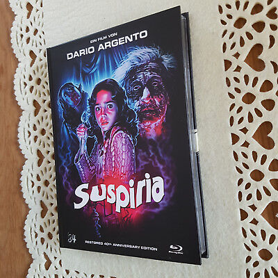 Suspiria Blu-Ray Mediabook wie neu 40th Anniversary Edtition