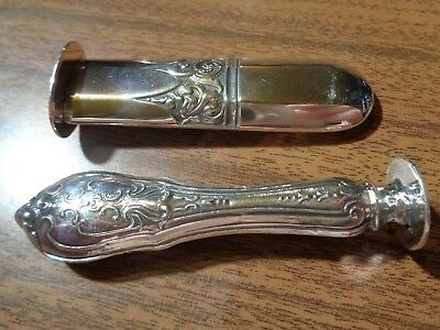2 Nice Old Silver Seal Lot