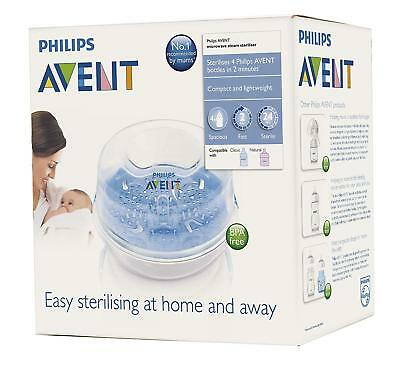 Philips AVENT Microwave Steam Sterilizer For Baby Bottles BPA Free