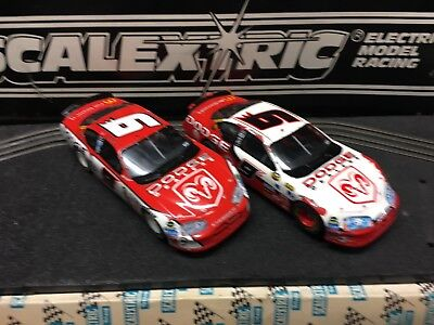Scalextric Scx Nascars Two Of Used Mcdonalds Liverys