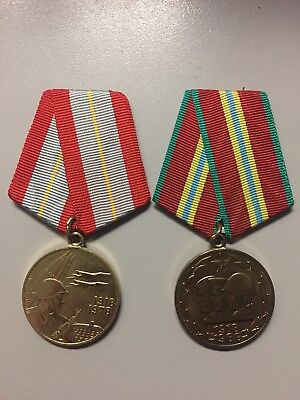 Medals For 60th and 70th Anniversary Of Armed Forces of the USSR