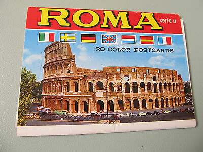 Vintage Postcards ROMA by Kodak only 6 available - unused
