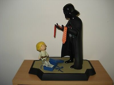 STAR WARS Gentle Giant Darth Vader and Son Deluxe Maquette++Selten++TOP