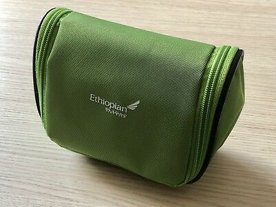 Amenity Kit Ethiopian Airlines Business Class First Class grün +++ NEU OVP