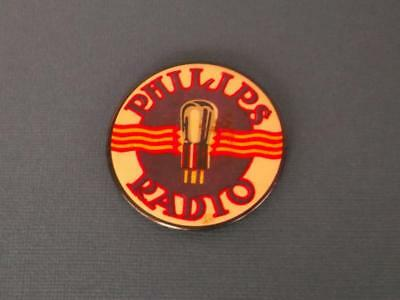 Collectable ''phillips Valve Radio 'advertising  Promotional? Small Mirror