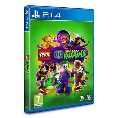 LEGO DC Super Villains PS4 PlayStation 4