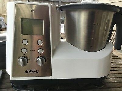 Mistral 8 in 1 Ultimate Kitchen Machine - comparable to Thermomix