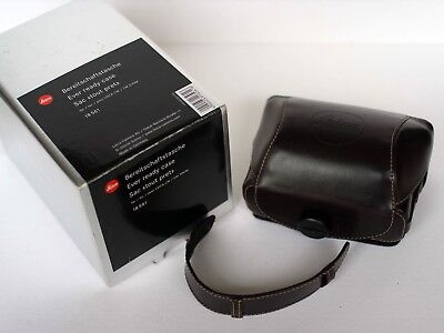 Leica Ever Ready Case For Leica Cm / Cm Zoom 18561 With Strap Boxed Hard To Find