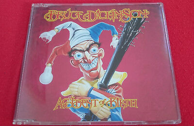 Bruce Dickinson - Accident Of Birth Maxi 2 Non Album Tracks Promo Iron Maiden