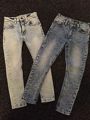 Boys Next Age 7 Skinny Jeans Bundle. Fab Condition