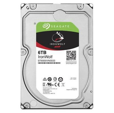 "Seagate 6tb Ironwolf Nas 3.5"" 5900 Rpm 256mb Cache Sata 6.0gb/ S 3.5"" Hdd St6000"