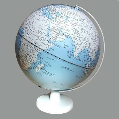 STUNNING LED Blue Ocean Educational World Globe Lamp Home Decor Wedding Gift m
