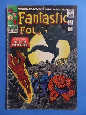 Fantastic Four 52 1966 1St Black Panther! Hot!