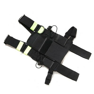 For Two Way Radio Walkie Talkie Accessory Chest Front Pack Pouch Holster Vest