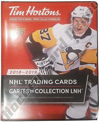 New 2018-19  UD/Tim Horton Limited Edition Collector's Binder