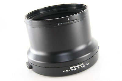 OLYMPUS FLASH ADAPTER RING FR-1 For Olympus Ring Flash [Excellent] From Japan