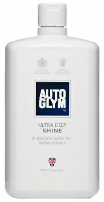 Autoglym Ultra Deep Shine Polish Restore For Dark Paint Finishes 1L 1 Litre
