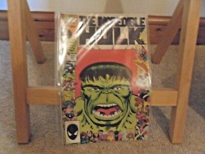 The Incredible Hulk #325 (1986, Steve Geiger, 25th Anniv.) Rare comic in FN+