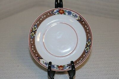 """H & Co Heinrich HC237 Imperial Selb Bavaria 5 3/4"""" Saucers (2)"""