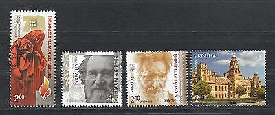 Ukraine MNH** 2015 Mi.  1471,1477,1481,1482 Lot Single Stamps II