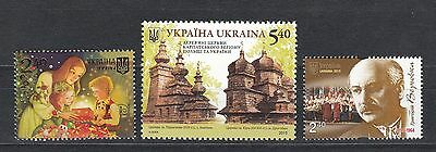 Ukraine MNH** 2015 Mi. 1523,1525,1526 Lot single stamps