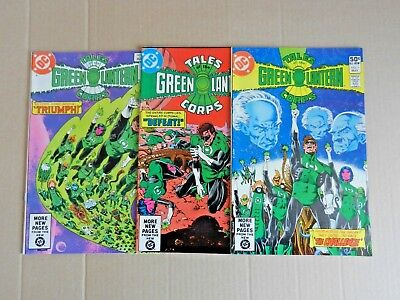 Tales of the Green Lantern Corps #1-3 (11981) [DC Comics]
