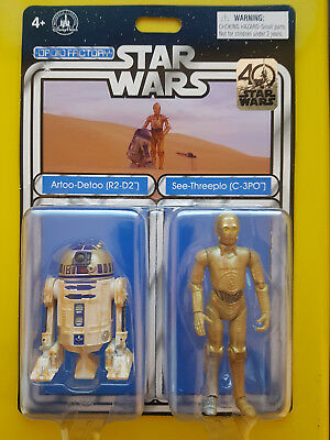 Star Wars - R2-D2 & C-3PO - Disney, Droid Factory Exclusive - 40th anniversary