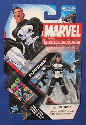 "Marvel Punisher 4"" Action Figure 2011 MOC Spider-Man Universe Hasbro Netflix Toy"