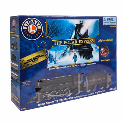 Lionel The Polar Express Train Set With Lights And Sound (4+ Years),New 2018