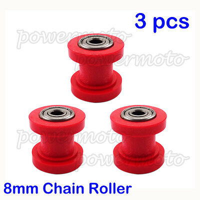 Pulley Chain Tensioner Roller 8mm For Chinese Pit Dirt Bike XR CRF 50 SSR KLX110