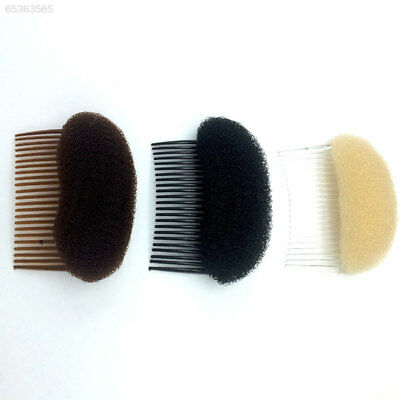 B386 Women Lady Hair Styling Clip Stick Bun Sponge Braid Tool Comb Hair Accessor