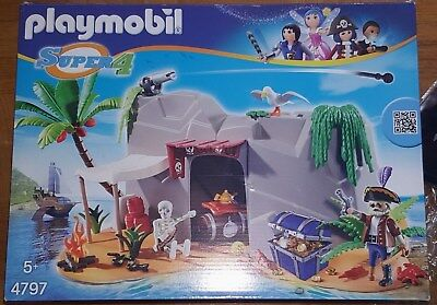 Playmobil 4797 Super4 Piraten Höhle OVP