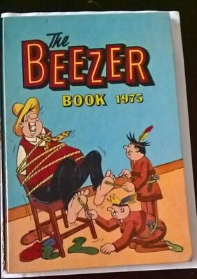 The Beezer Book Annual 1975 *** Unclipped ***
