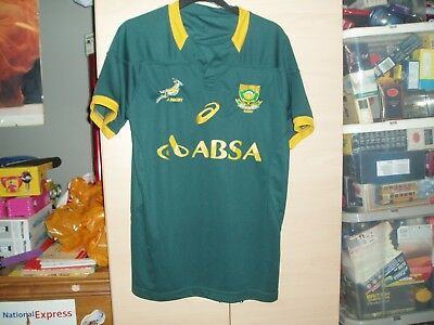 South Africa Rugby Shirt Mint Condition In A Size Small Adults