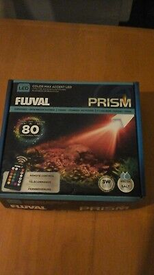 Fluval Prism LED light with remote control 3watts with box