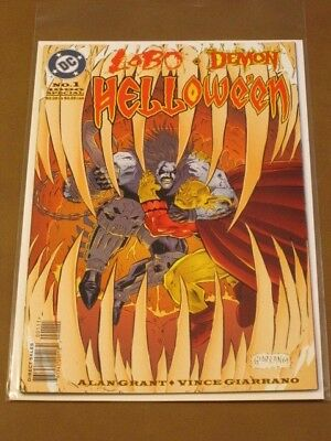 Lobo Demon Halloween Special Dc Comics Halloween Classic Rhyming Etrigan Dragons