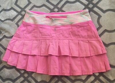 Ivivva by Lululemon Set The Pace Tennis Skirt Size 14