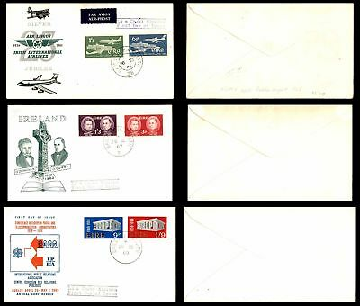 Ireland 1961-1969 Lot of 23 First Day Covers With Some Airmails