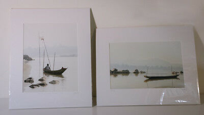 Lorrie Dallek Photography - Laos - Mekong River Pair - Signed # Numbered