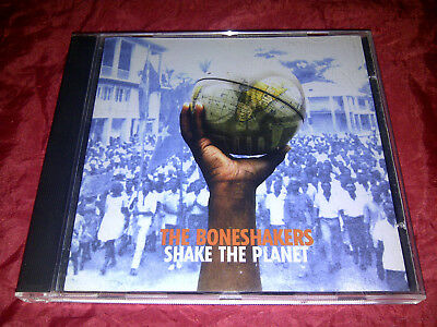 THE BONESHAKERS - Shake The Planet CD 1998 Pointblank 7243 8 46194 2 8 Soul Rock
