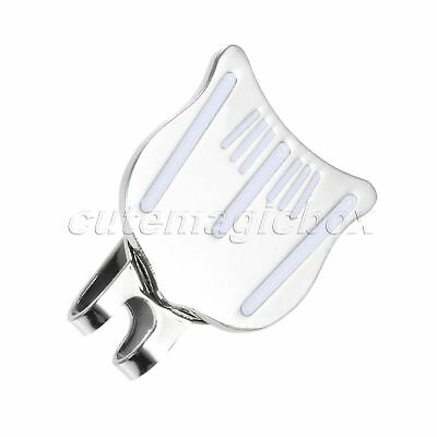 1Pc Alloy Golf Cap Clip Strong Magnetic Hat Clips Golf Ball Aiming Marker Gift