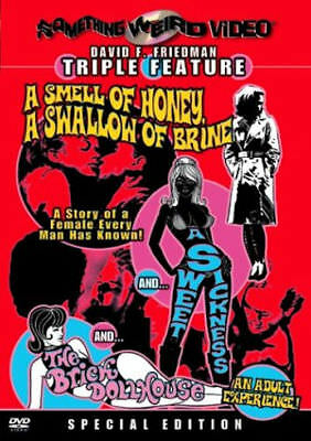 New Dvd - Something Weird Video Triple Feature - Smell Of Honey +Sweet Sickness