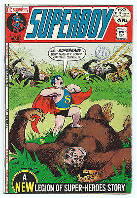 Superboy 183 52 Page Giant Gorgeous New Legion Story High Grade 25¢ 1972