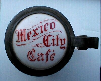 1920's 30's Mexico City Cafe Beer Stein, Dallas Texas.
